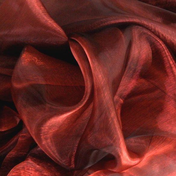 TERNI, organza függöny anyag, sangria