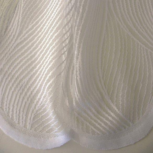 TILDE, hullámmintás pezsgő jacquard függöny anyag, 190 és 280 cm magas