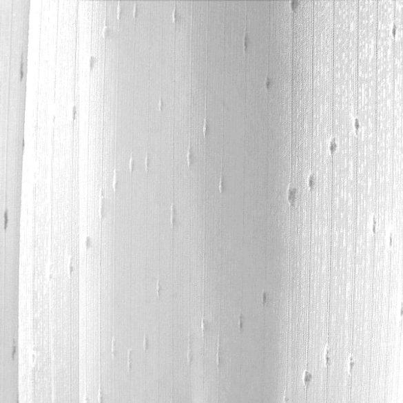 RITA, fehér noppos szablé fényáteresztő függönyanyag