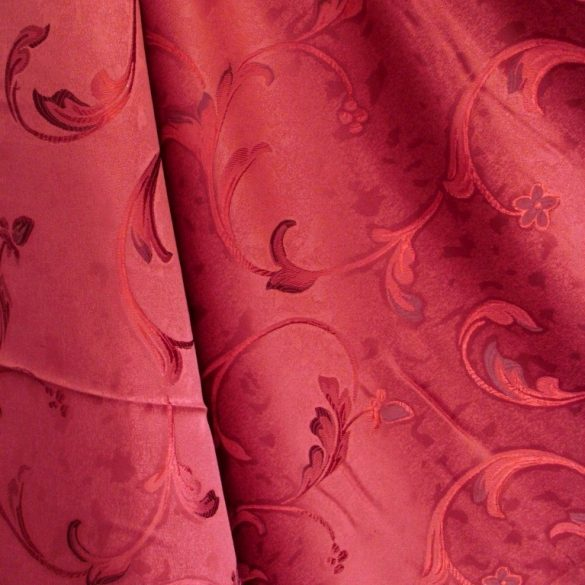 BABYLON, sötétítő, dekor függöny anyag, bordó
