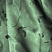 BABYLON, sötétítő, dekor függöny anyag, zöld