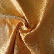 ROSARETTO, indamintás dekorfüggöny anyag, arany