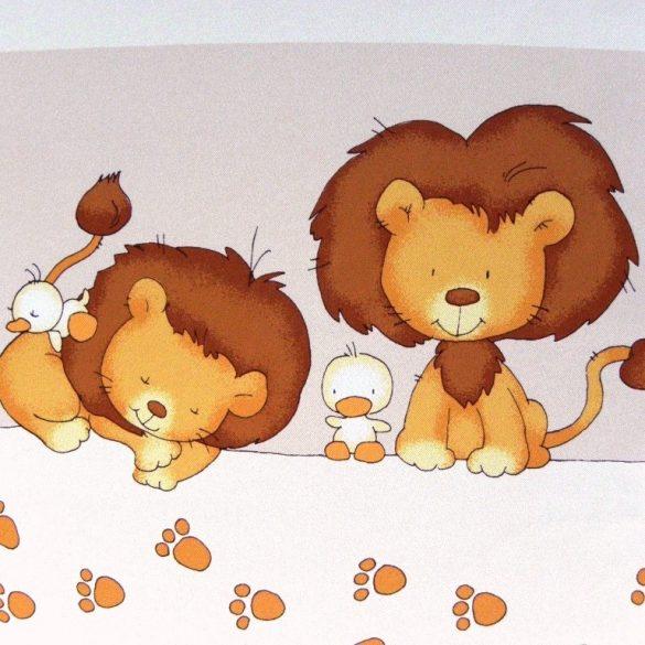 LÖVE, oroszlán mintás dim out sötétítő függöny méteráru