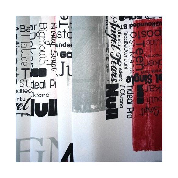 ONTARIO, modern mintás, dimout sötétítő függöny