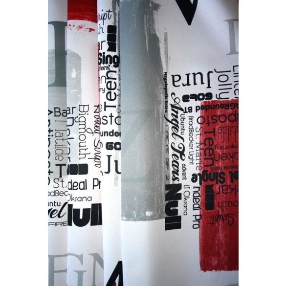 ONTARIO, modern mintás, dimout sötétítő függöny, maradék darabok