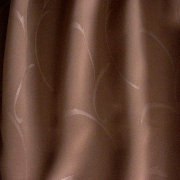 RAGUSA, indamintás dimout sötétítőfüggöny anyag, cappuccino