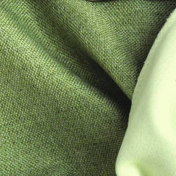 ROTTERDAM, szövet mintázatú dim out sötétítő függönyanyag, zöld