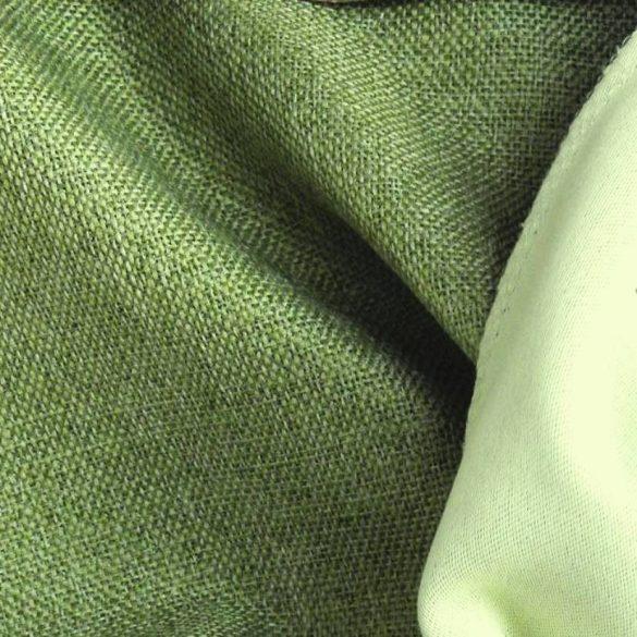 ROTTERDAM, szövet mintázatú dim out sötétítő függönyanyag, zöld, maradék darab: 0,85 m