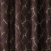 Dim out sötétítő függöny - Pilsen, barna-zöld