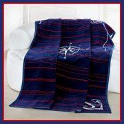 SAVA NAVY, 150x200 cm takaró, pléd - előrendelhető