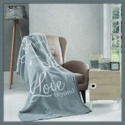 SAVA LOVE, 150 x 200 cm takaró, pléd