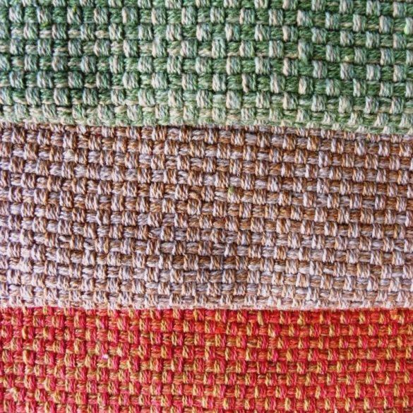 NATURAL, pamut szövött szőnyeg, kádkilépő, ágyelő, falvédő, narancs