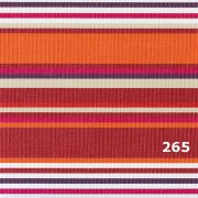FIUME, 140 cm széles, 265 csíkos, UV álló, impregnált kültéri vászon