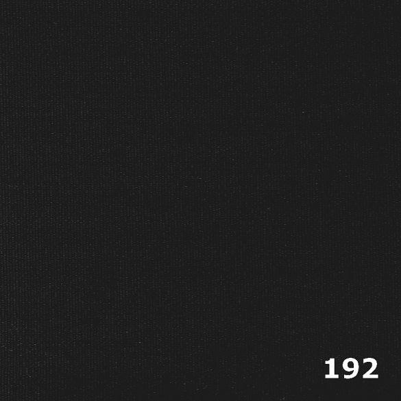 FIUME, 140 cm széles, 192 fekete, UV álló, impregnált kültéri vászon, egyszínű - maradék darab