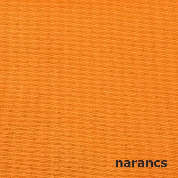 CATANIA, készleten lévő, UV álló, teflonos kültéri vászon, egyszínű - narancs