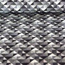 Rózsaszín patchwork mintás pamutvászon