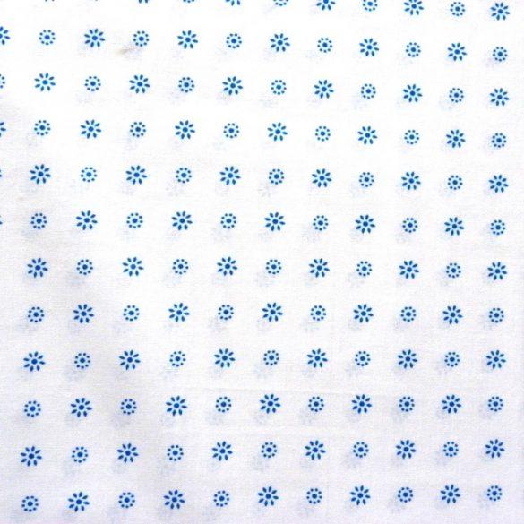 LIDI, kék apró virágos pamutvászon