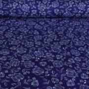 TURTLES, színes teknőcös, szívecskés pamut vászon méteráru