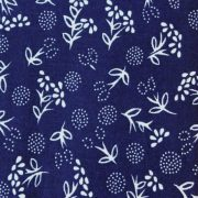 PIPITÉR, kékfestő mintás pamut vászon