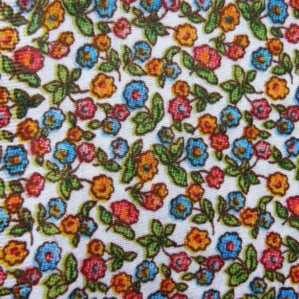 PETITEFLEUR, színes, apróvirágos pamutvászon méteráru