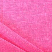 Raszteres egyszínű pamutvászon - pink