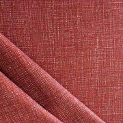 Raszteres egyszínű pamutvászon - rozsdabarna