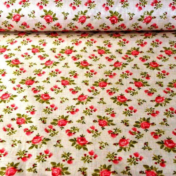 RÓZA, bordó rózsák, drapp raszteres alapon