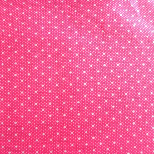DUO, duplapöttyös pamutvászon, rózsaszín, pink