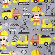 BOB the builder, Bob az építő mintás, pamut vászon méteráru