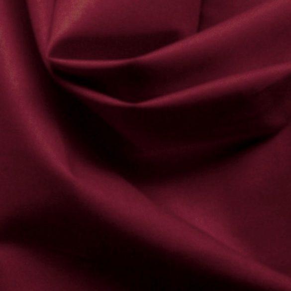 Uni, egyszínű pamutvászon, bordó