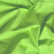 Uni, egyszínű pamut vászon, kiwizöld