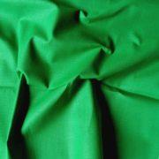 Uni, egyszínű, zöld pamut vászon - Hospital green