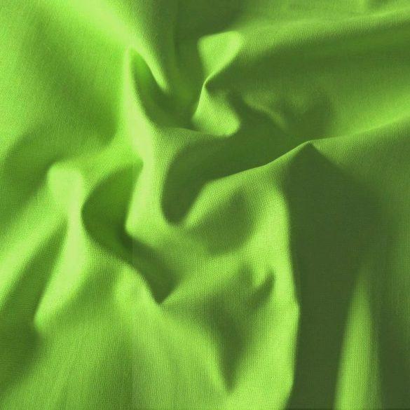 Uni, egyszínű pamutvászon, pisztácia zöld