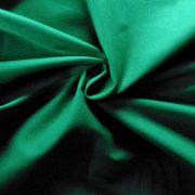 Uni, egyszínű pamutvászon, trópusi zöld
