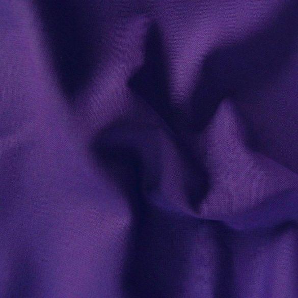 Uni, egyszínű pamutvászon, lila