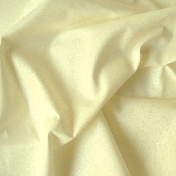 Uni, egyszínű pamut vászon, pasztell sárga