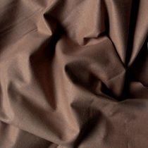 Uni, egyszínű pamut vászon, mogyoró