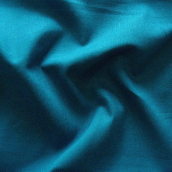 Uni, egyszínű pamutvászon, mosaic blue, középkék
