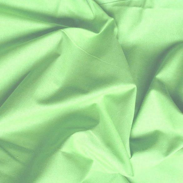 Uni, egyszínű pamutvászon, pisztácia zöld, pasztellzöld