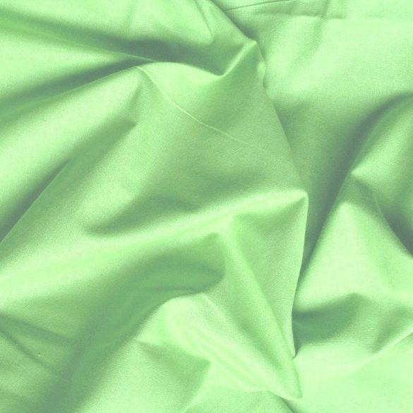 Uni, egyszínű pamutvászon, kiwi zöld