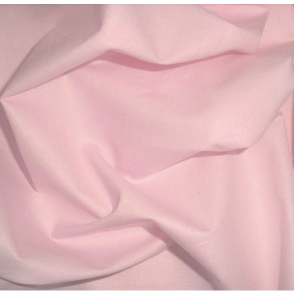 One colour cotton linen, baby-pink