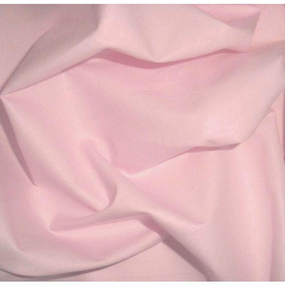 Uni, egyszínű pamutvászon, rózsaszín
