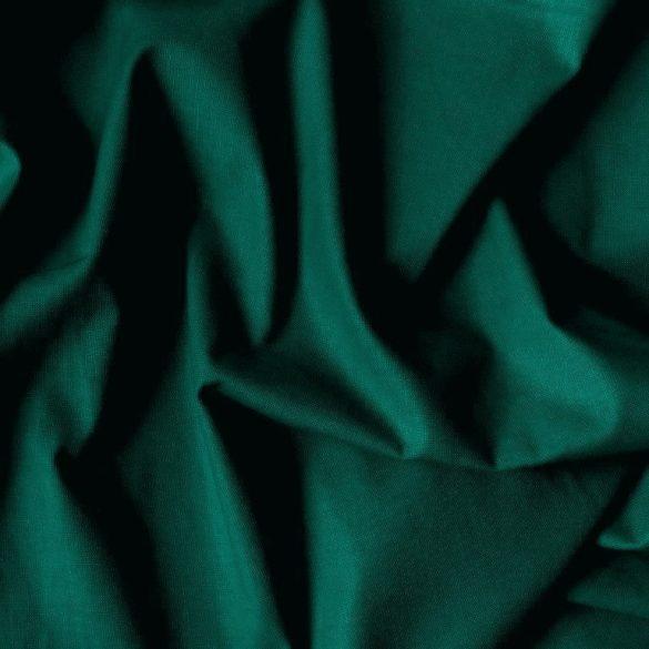 Uni, egyszínű pamutvászon, fenyőzöld, karácsonyzöld
