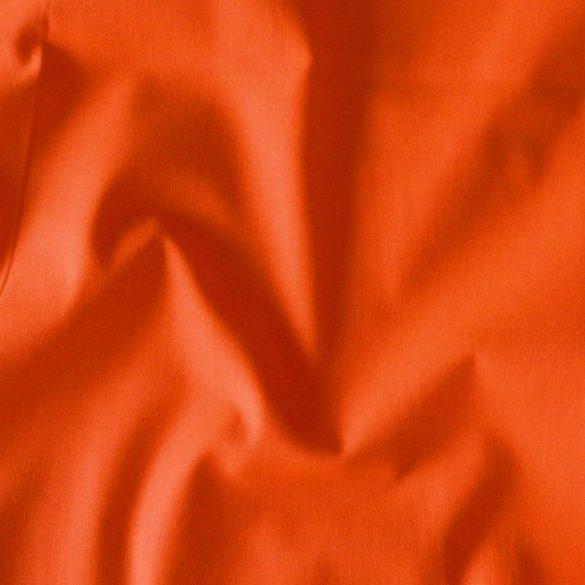 Uni, egyszínű pamutvászon, mandarin, sötét narancs