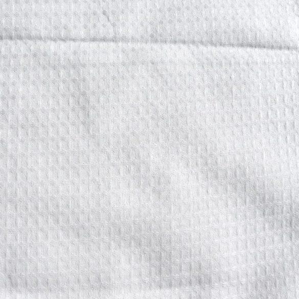 Fehér darázs, waffle pamutszövet, 185 g/m²