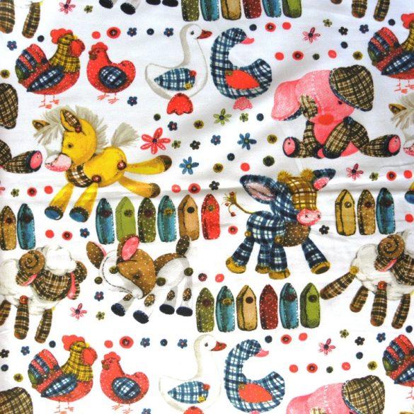 RAGDOLL, textiljátékok, extra széles, gyerekmintás pamutvászon