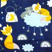 Formula1, extra széles, versenyautó mintás pamutvászon