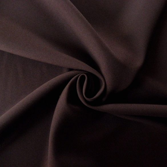 Panama szövet, egyszínű sötétbarna