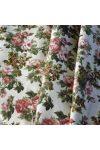 NATI, kis rózsa mintás lakástextil, dekorvászon