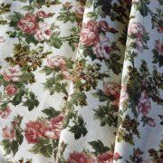 ROSIE, kis rózsás lakástextil, dekorvászon